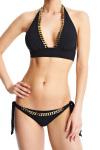 Ingrid Chaînes Bikini Top Midnight Blue