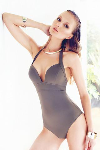 Sophia Classique One-Piece Khaki