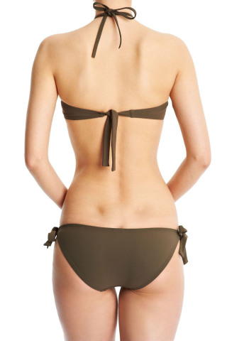 Elizabeth Classique Bikini Top Khaki
