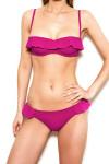 Ava Volants Bikini Brief Fuchsia