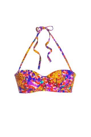 Audrey Bali Hai Bikini Top Print