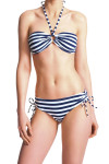 Faye Breton Chic Bikini Short Blue & White Stripes
