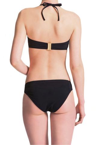 Grace Classique Sweetheart Bikini Top Black