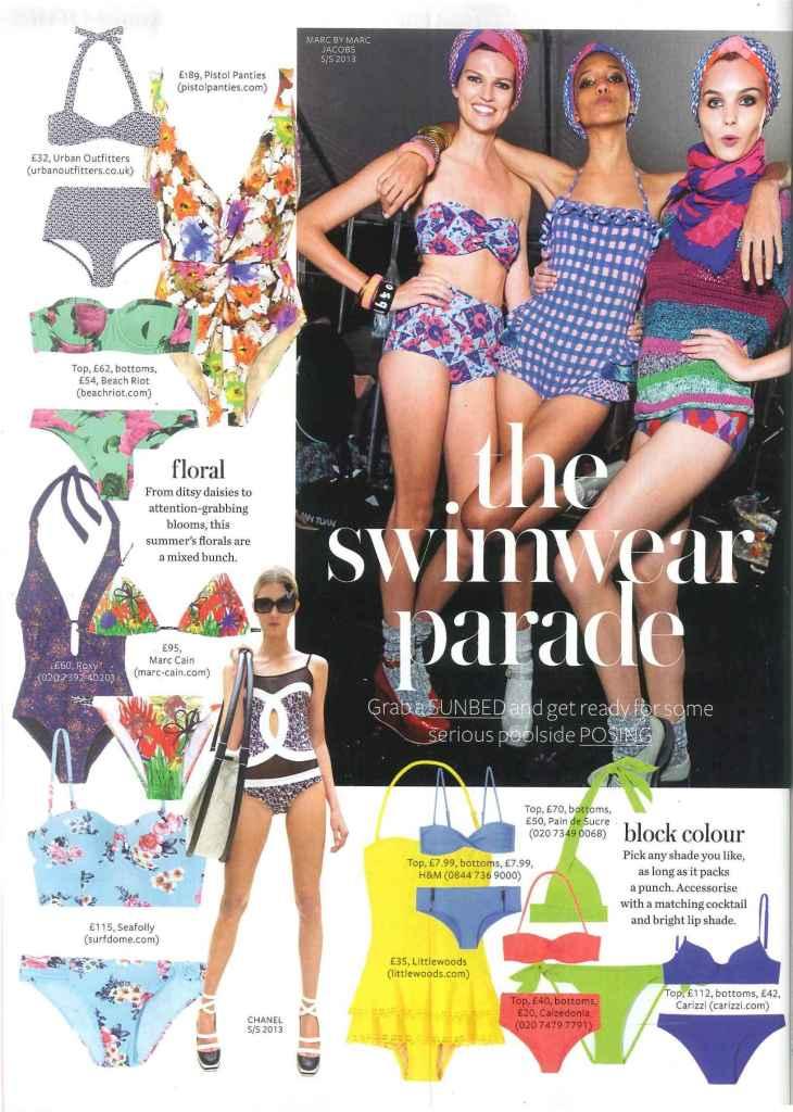 Carizzi Brigitte bikini top in InStyle's Swimwear Parade