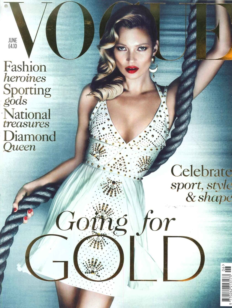 Vogue - Going for GOLD