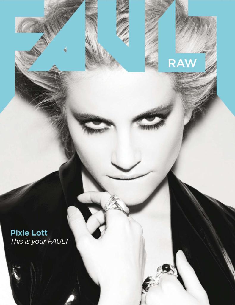 Pixie Lott Fronts Fault Magazine