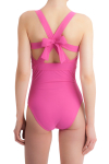 Carizzi Sophia Cocktail Hour One-Piece Swimsuit Pink