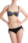 Carizzi Audrey Diamonds bikini top and Faye Classique Bikini Short Black