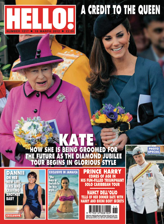 HELLO Magazine - HRH the Queen, Kate Middleton, Duchess Of Cambridge