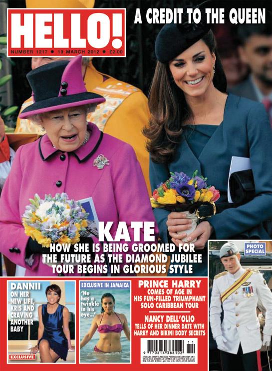 HELLO Magazine - HRH the Queen, Kate Middleton, Duchess Of Cambridge